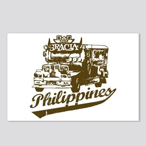 Philippines Jeepney Postcards (Package of 8)