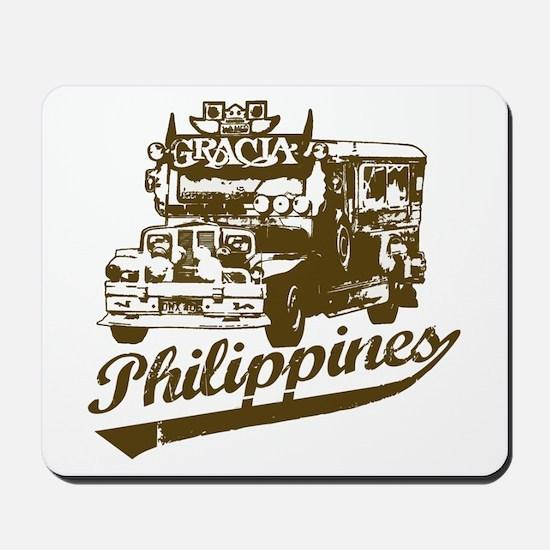 Philippines Jeepney Mousepad