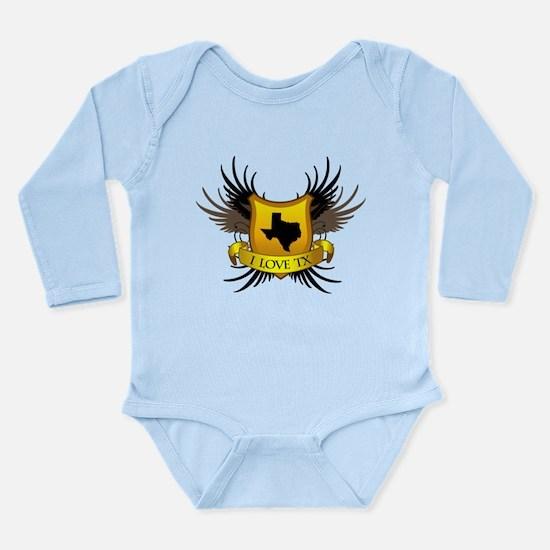 Banner, Heart & Wings - I Lov Long Sleeve Infant B