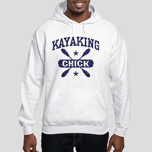 Kayaking Chick Hooded Sweatshirt