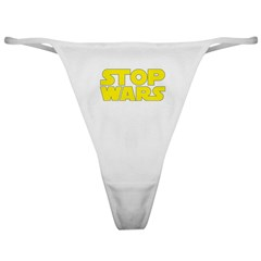 Stop Wars Classic Thong