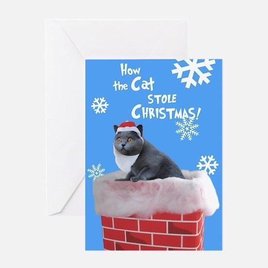 Unique Chimneys Greeting Card