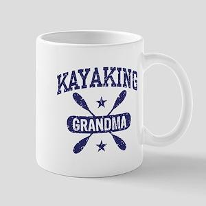 Kayaking Grandma Mug