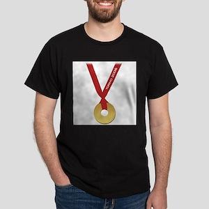 Funny Torino 2006 Olympics Go Black T-Shirt