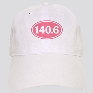 140.6 Pink Triathlon Oval Cap