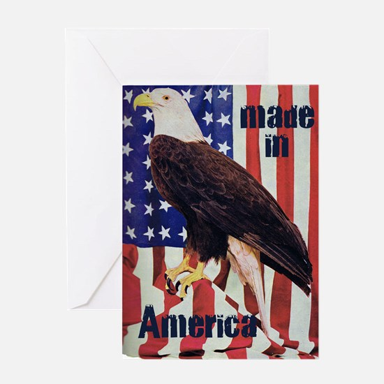 Made in America, Bald Eagle Greeting Card