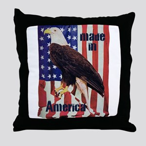 Made in America, Bald Eagle Throw Pillow
