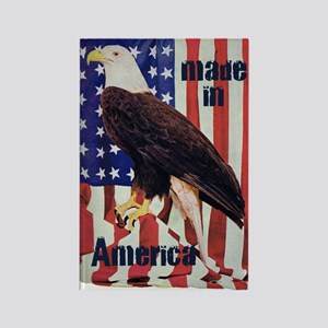 Made in America, Bald Eagle Rectangle Magnet