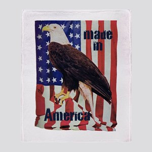 Made in America, Bald Eagle Throw Blanket