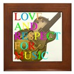 kuuma music select Framed Tile