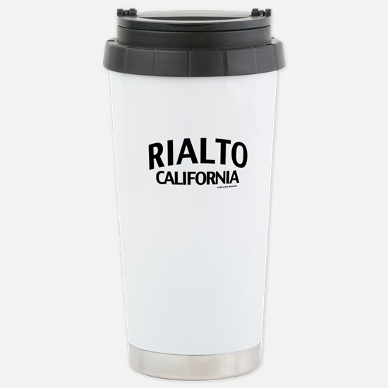 Rialto Stainless Steel Travel Mug