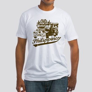 Philippines Jeepney Fitted T-Shirt