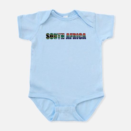 South Africa Infant Bodysuit