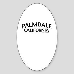 Palmdale Sticker (Oval)