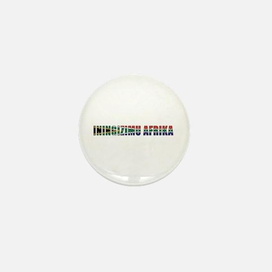 South Africa (Zulu) Mini Button