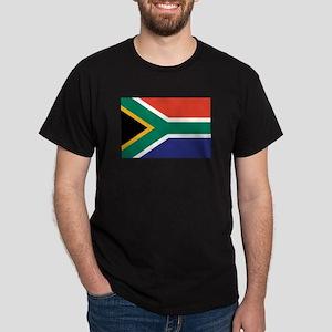 South Africa Flag Dark T-Shirt