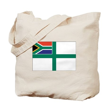 South Africa Naval Ensign Tote Bag