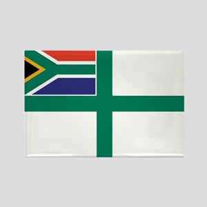 South Africa Naval Ensign Rectangle Magnet