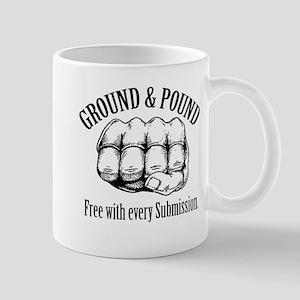 Ground & Pound MMA Glove Mug
