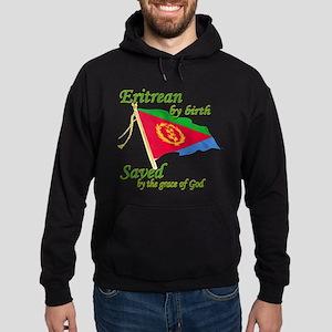 Eritrean by birth Hoodie (dark)
