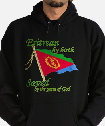 Eritrean by birth Hoodie (dark)