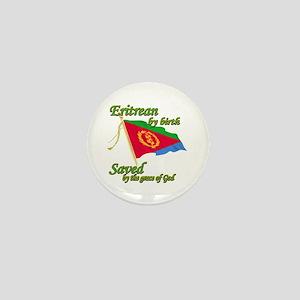 Eritrean by birth Mini Button