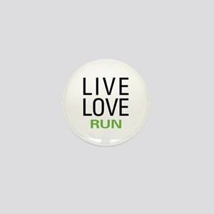 Live Love Run Mini Button