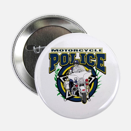 "Motorcycle Police Officer 2.25"" Button"