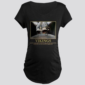VIKINGS Maternity Dark T-Shirt