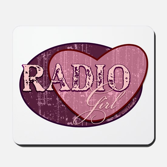 Radio Girl II Mousepad