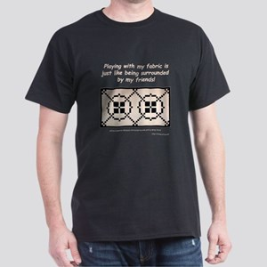 Surrounded by Fabric Dark T-Shirt
