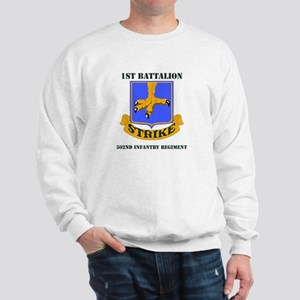 DUI - 1st Bn - 502nd Infantry Regt with Text Sweat