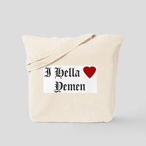 Hella Love Yemen Tote Bag