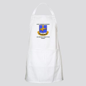 DUI - 2nd BCT - Strike with Text Apron