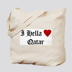 Hella Love Qatar Tote Bag