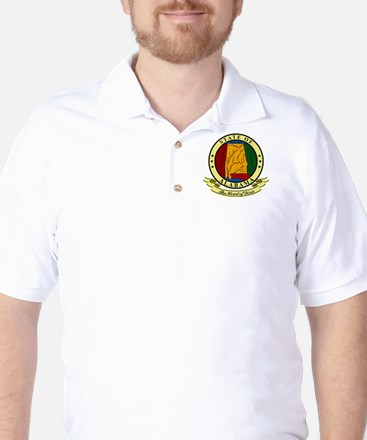 Alabama Seal Golf Shirt