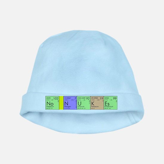 No Nukes baby hat