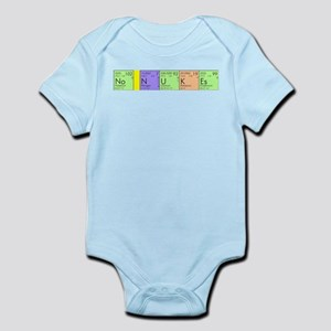 No Nukes Infant Bodysuit