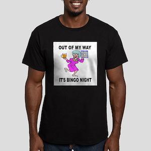 JACKPOT COMING Men's Fitted T-Shirt (dark)