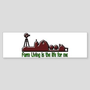 Farm Living is The Life Sticker (Bumper)