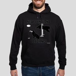 Newfoundland Open Obedience Hoodie (dark)