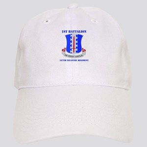 DUI - 1st Bn - 187th Infantry Regt with Text Cap