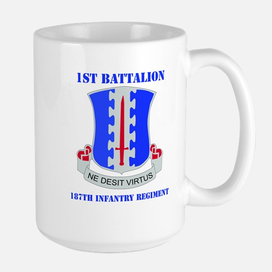 DUI - 1st Bn - 187th Infantry Regt with Text Large