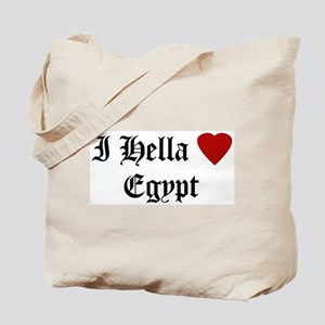 Hella Love Egypt Tote Bag