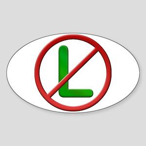 Noel No L Sticker (Oval)