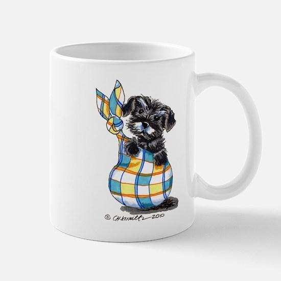 Schnauzer Sack Puppy Mug