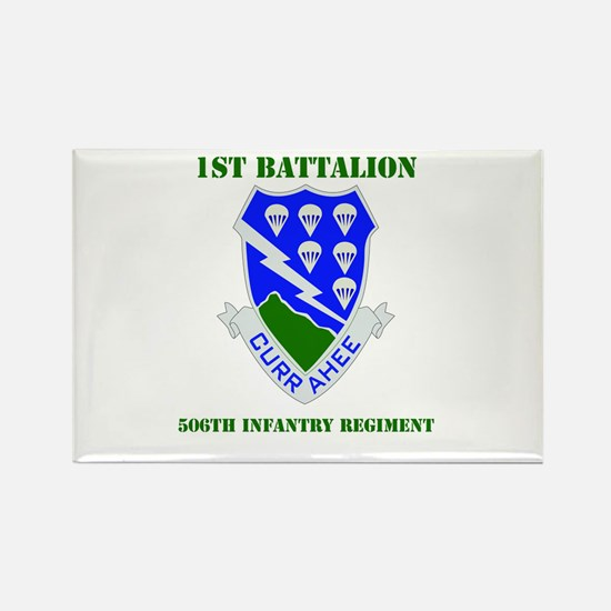 DUI - 1st Bn - 506th Infantry Regt with Text Recta