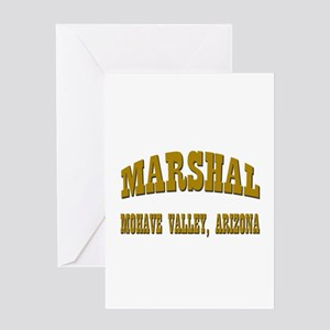 Mohave Valley Marshal Greeting Card