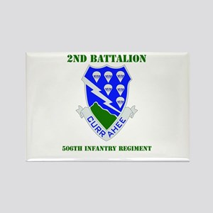 DUI - 2nd Bn - 506th Infantry Regt with Text Recta