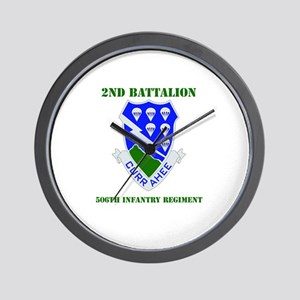 DUI - 2nd Bn - 506th Infantry Regt with Text Wall